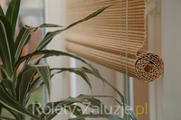 rolety żaluzje inne maty bambusowe